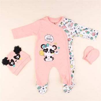 Cute Baby Bebek Tulum Set